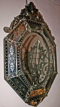 Fabulous French Venetian Mirror