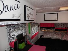 The girls renovated and remodeled camper/ travel trailer. Hot pink, zebra, black, white and silver! I Go To Work, Complete Bathrooms, Camper Interior, Remodeled Campers, Pink Zebra, Camper Ideas, Take Me Home, Queen Size Bedding, Rv Life