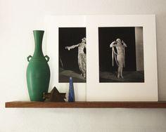Pair 2 French Art Deco Fashion Photos Poiret by CrowCreekVintage