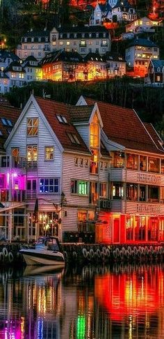 NORWAY - Bergen beautiful places for travel