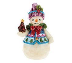 Jim Shore Heartwood Creek Pint Sized Holiday 5 Figurine