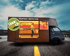 The Coolest Food Trucks Ever #seriously #yum