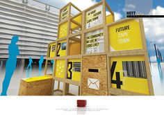 A Modular, custom built voting booth for Future Cape Town interactions with the public for multiple use during Cape Towns pending run as The World Design Capital in 2014