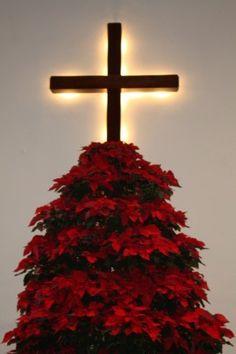 Poinsettia Christmas Tree Stand