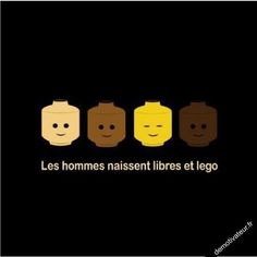 Men are born free and lego (play on word with French for equals) Troll, Lego Humor, The Bigbang Theory, Image Fun, Lego Worlds, Funny Cute, Legos, Make Me Smile, I Laughed