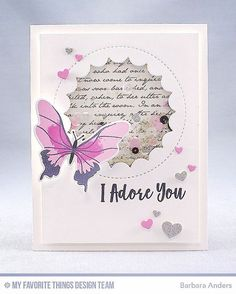 """1 Likes, 4 Comments - Barbara Smith Anders (@banders03123) on Instagram: """"It's time! Beautiful Butterflies, MFT's February card kit is now available for purchase at the MFT…"""""""