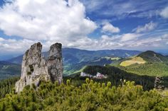 Rarau Mountains. Romania