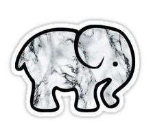 Marble Elephant Sticker                                                                                                                                                                                 More