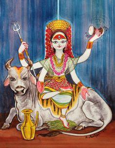 Mahalaya 14.08 MahaGauri. #Devipaksha #Deviseries