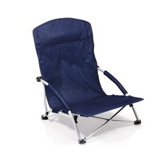 Picnic Time Tranquility Portable Folding Beach Chair, Navy -- This is an Amazon Affiliate link. Read more reviews of the product by visiting the link on the image.