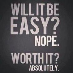 Es ist es wert!