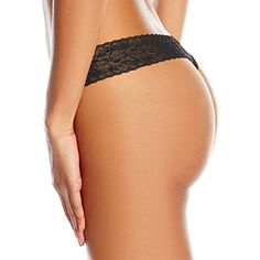 4d6a37eddc158 Calvin Klein Women's Underwear Bare Lace Thong Panty at Amazon Women's  Clothing store: