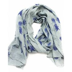 I HAVE to have this Pineapple Print Scarf