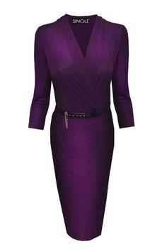 Diana Faux Wrap Dress