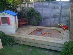 Sandpit & deck | Flickr - Photo Sharing!