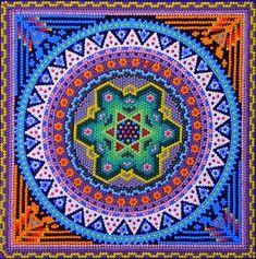 Huichol Art, San Blas : mexicoguru.com