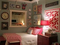 Guest bdrm  Colorful and cozy~
