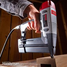Want to know how to use a pneumatic finish nailer? Want to know how to get the most out of it? Here's a collection of tips to help your projects turn out better—in ways you might not expect.
