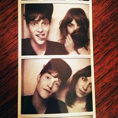 Alexa Chung and Matt Hitt