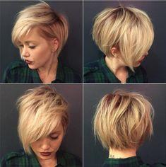 Tousled Blonde Pixie Bob