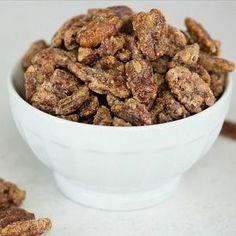 Cinnamon-Sugar Candied Pecans via @browneyedbaker