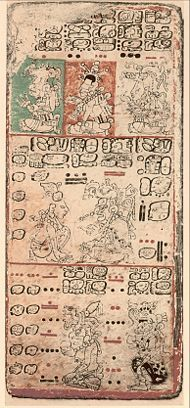 Dresden codex, one of the few Mayan books that have survived burning by the Spanish