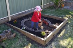Our kids' garden needs help--this one gives me some inspiration