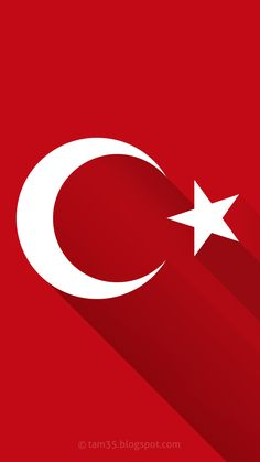 Wallpapers For Mobile Phones, Mobile Wallpaper, Colorful Wallpaper, Galaxy Wallpaper, Turkey Flag, Mini Tattoos, Istanbul, Mobiles, Symbols