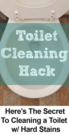 how to get rust stains off toilet bowl