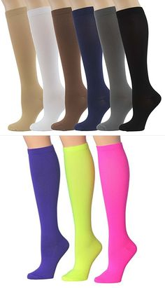 Girls Womens Raspberry Pink Bright Colour Long Socks Over Knee Plain UK 4-6