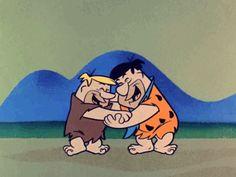 """Eu tirei:""""Yabba Dabba Doo! Você é praticamente um especialista em desenhos."""" (54 de 63! ) - Você pode acertar o nome de 63 personagens de desenhos animados?"""