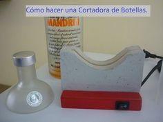 NUEVO VIDEO - Maquina para cortar botellas de vidrio MAQUINACB (011) 4458 - 2907 - YouTube
