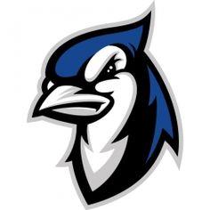 Elizabeth Town Bluejays | American Logo Sport Theme