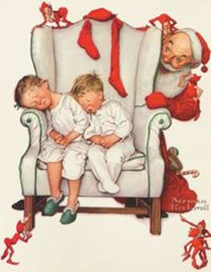 ImpressioniArtistiche: Norman Rockwells ~ Christmas ~