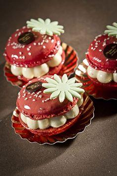 Macarons... ils sont fleuris et beaux! Philippe Parc, MOF