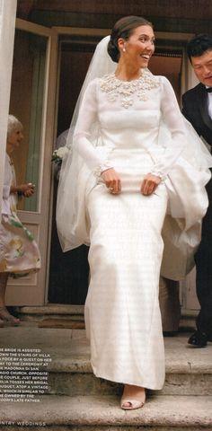 emilia wickstead's wedding...ooh heavenly. I love this...now just add a splash of dashing man ;)