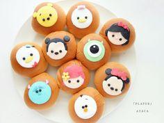 Disneyland Birthday, Disneyland Food, Disney Inspired Food, Dog Cupcakes, Sweet Soup, Cute Baking, Chocolates, Baby Birthday Cakes, Steamed Buns