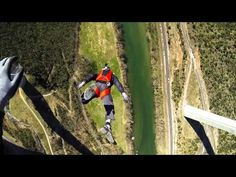 The French Slide - BASE jump Viaduc de Millau - YouTube