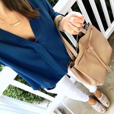 IG @mrscasual <click through to shop this look> Blue Lush Tunic. Marc Fisher Espadrilles. Shop mrscasual.com for summer and fall outfits like this!