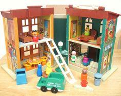 Fisher Price Sesame Street townhouse