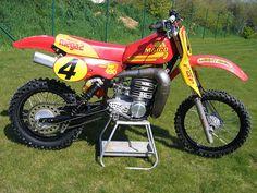 Vintage Maico Motocross Bike