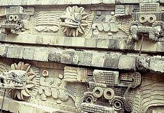 Pyramid of Quetzalcoatl Teotihuacan, Mexico