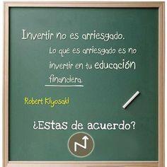 Invierte en tu educación financiera. www.tiendalaescueladeinversion.com
