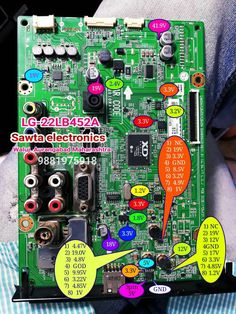 Voltage Details w 2019 Electrical Circuit Diagram, Basic Electrical Wiring, Sony Led Tv, Electronics Basics, Electronics Components, Consumer Electronics, Electronic Circuit Design, Lcd Television, Tv Backlight