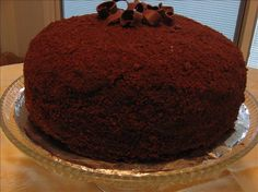 ebinger's Blackout Cake.........the best chocolate cake you will ever eat.  Totally worth the effort.