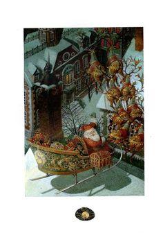 çizgili masallar: The Night Before Christmas by Gennady Spirin