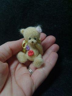 a cute miniature bear