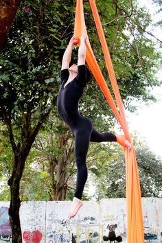 Aerial dance. i shall admit i want to do this soooooo bad. this looks like so much fun!