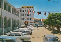 ميدان البلدية بمدينة درنة في بداية السبعينيات