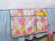 Sewing for the Home ~ Hanging Bed Organizer   Sew Mama Sew   Outstanding sewing, quilting, and needlework tutorials since 2005.